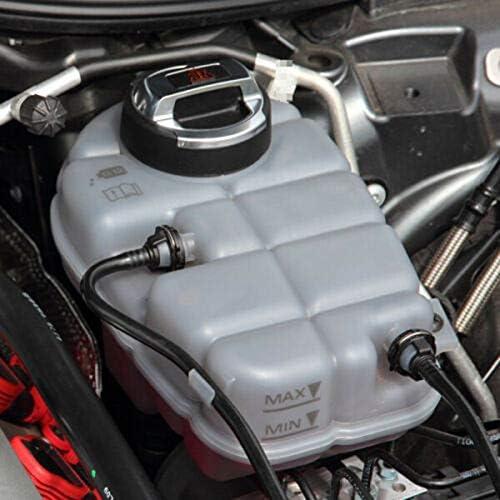 Fauge 2Pcs Car Coolant Oil Expansion Tank Cap Cover for Scirocco Cc R8 420121321 420103485B