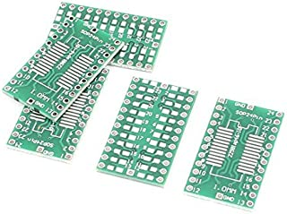 DealMux 5Pcs 30 x 18 mm Sop 24Pins Pcb Einseitige Adapter-Konverter-Brett
