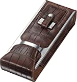 Visol ''Alton'' Leather Cigar Case, Brown