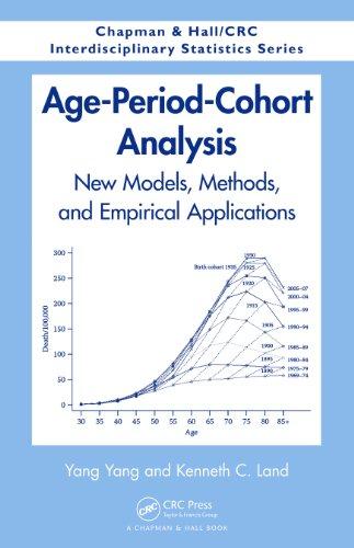 - Age-Period-Cohort Analysis: New Models, Methods, and Empirical Applications (Chapman & Hall/CRC Interdisciplinary Statistics)