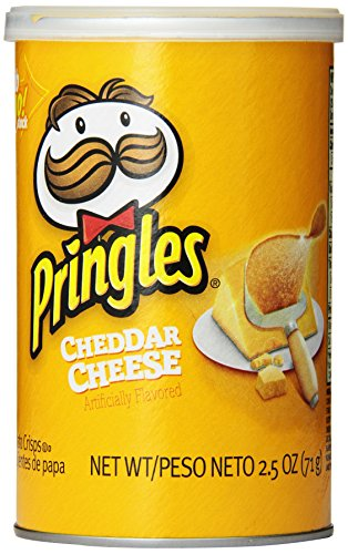 Cheese Potato (Pringles Cheddar Cheese Potato Crisps Chips, Grab and Go Pack, 2.5 Ounce (Pack of 12))