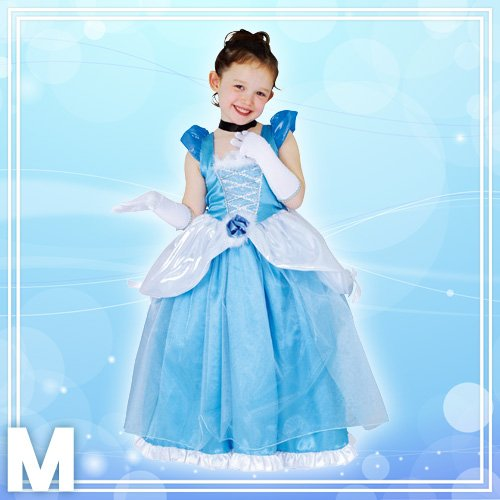 Disney Deluxe Cinderella Costume -- Child M Size by STEAMPUNK (Image #2)