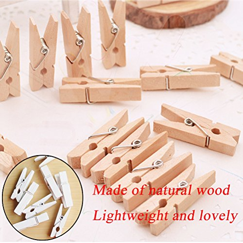 LWR Crafts Wooden Small Clothespins 1-7//8 4.8cm 50 Pieces Per Pack Natural