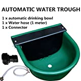 AUTOMATIC WATER TROUGH PLASTIC BOWL AUTO FILL-- FOR DOG SHEEP CHICKEN