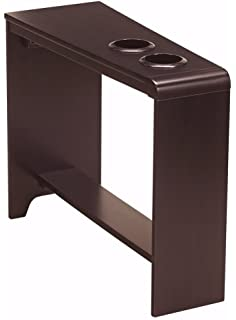 Ashley Furniture Signature Design   Carlyle Chairside End Table    Rectangular With 2 USB Ports