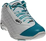 AND1 and 1 Men's Tai Chi Basketball Shoe, White/Capri-Breeze, 9.5 M US