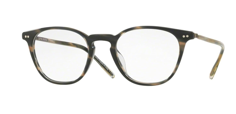 476d8cbbb0 Amazon.com  New Oliver Peoples OV 5361 U HANKS 1611 BLUE COCOBOLO EyeGlasses   Clothing