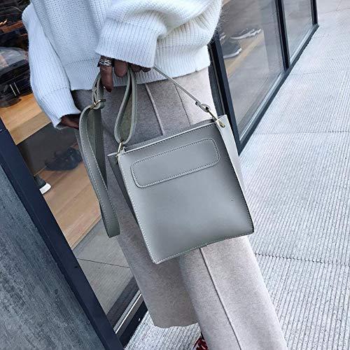 La Mujeres Shoulder Crossbody Mini Gris Pu Cubo Taleguilla Famous Primera Mensajero Bag Aprigy De Sólido marrón Bolsos Piel Los Marca Del Vendimia CqwUtFp