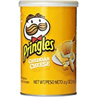 12-Pack Pringles Cheddar Cheese Grab and Go Pack