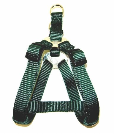 (1.9cm x 50cm 80cm, Dark Green) Hamilton Pet Company Adjustable Easy On Harness- Dark Green .75 X 20-30 SHA MDDG