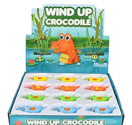 DollarItemDirect 4.25'' Wind-UP Crocodile, Case of 36