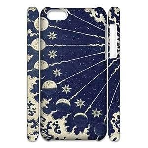 Sun Moon Pattern CUSTOM 3D Cell Phone Case for iPhone 5C LMc-70327 at LaiMc