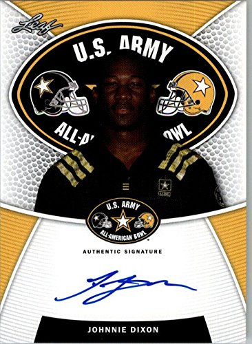2014 JOHNNIE DIXON Leaf US Army Autograph Rookie Auto RC OHIO STATE from Leaf