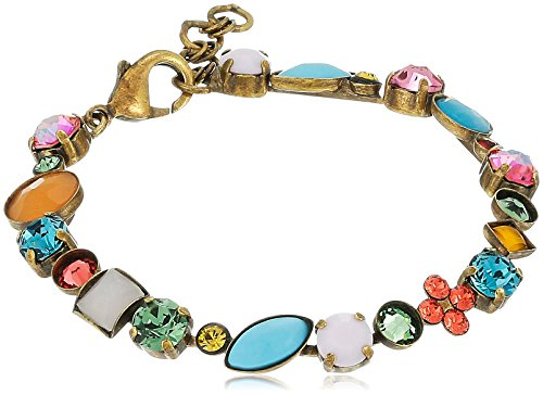 Sorrelli Happy Birthday Crystal and Cabochon Classic Bracelet