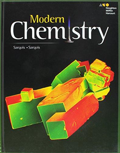 HMH Modern Chemistry: Student Edition 2017