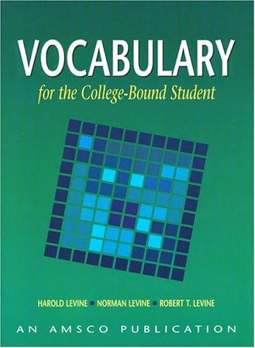 - Vocabulary for the College Bound Student