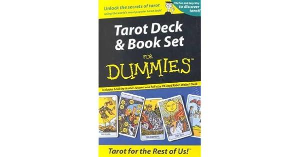 Amazon.com: Tarot Deck y libro juego para Dummies * * isbn ...