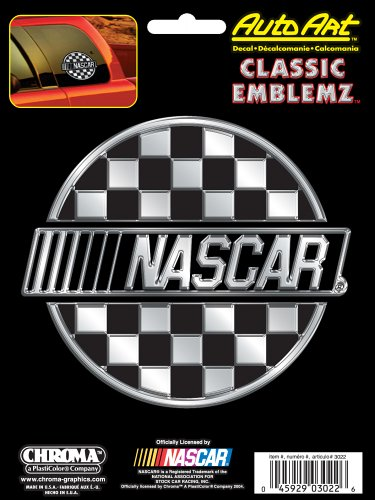Chroma Graphics NASCAR Classic Emblemz Decal ()