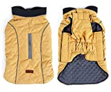 Beloved1314 Dog Cold Weather Vest Reflected Winter Pets Coat Windproof Warm Dog Outfits Review
