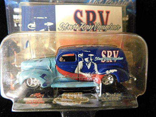 Stevie Ray Vaughan 1940 Ford Sedan Delivery Signature Superstar Edition 1:64 scale die-cast by Racing Champions