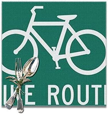 Compra Ruta de Bicicleta Personalizada Manteles Individuales ...