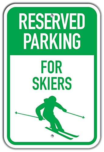 Skier Silhouette (PetKa Signs and Graphics PKRP-0036-NP_