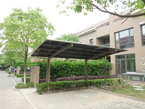 10 18 Metal Carport : Carport aluminum polycarbonate garage canopy