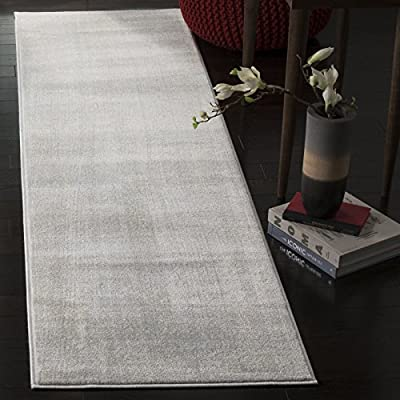 Safavieh Carnegie Collection CNG621C Vintage Cream and Light Grey Distressed Runner