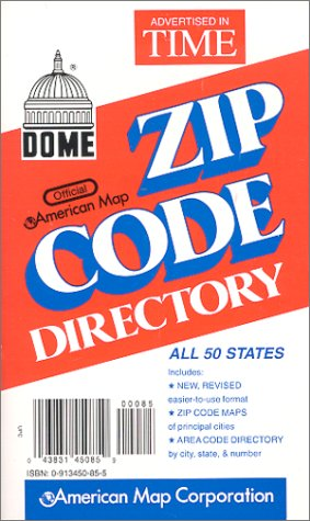 Dome Official American Map Zip Code ()