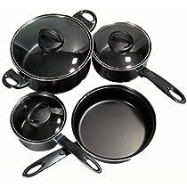 Star Distributors 82333 Nonstick Cookware Set44; 7 Piece