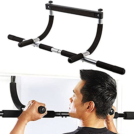 Heavy Duty Doorway Chin Pull Up Bar Exercise Fitness Gym Home Door Mounted  sc 1 st  Amazon.com & Amazon.com : Heavy Duty Doorway Chin Pull Up Bar Exercise Fitness ...