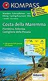 Costa della Maremma - Piombino - Follonica - Castiglione della Pescaia: Wanderkarte mit Radtouren. GPS-genau. 1:50000 (KOMPASS-Wanderkarten, Band 2469)