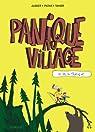 Panique au village, tome 1 : Le vol du tracteur par Aubier