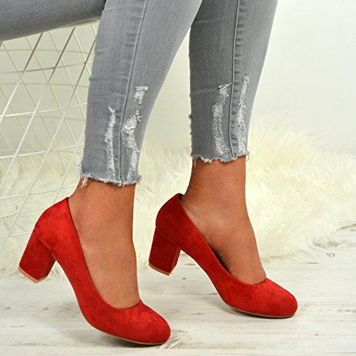Red Con Mujer Cucu Fashion Cuña Sandalias nORwqzxPAX