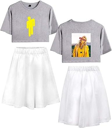 Camiseta y Falda Adolescente Chica Camiseta de Manga Corta Billie ...