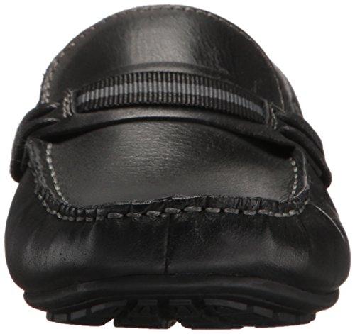 Steve Madden Mens Gander Dagdrivare Svart Läder