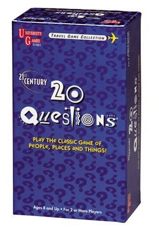 21st Century 20 Questions Card Game by University Games