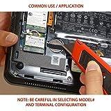 2X Panasonic CR-2032/GVFN 3V Lithium Coin Battery 3 PC Pins Tab for PC CMOS DV6300, DV6100 Series CMOS Battery CR2032/S5LE CR2032/55LE Model No. CR2032MBU-IBM-02K6541 Pavilion DV6000 Series