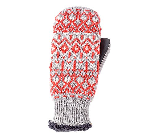 Isotoner Signature Nordic Fair Isle Mittens One Size Fits Most