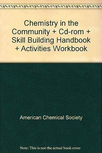 chemistry in the community cdr skill building handbook rh amazon com