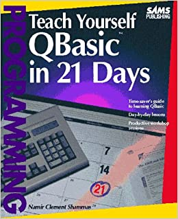 Teach yourself qbasic in 21 days namir clement shammas teach yourself qbasic in 21 days namir clement shammas 9780672303241 amazon books fandeluxe Image collections