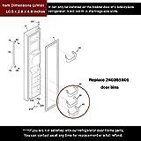 AMI PARTS 240351601 Refrigerator Freezer White Door