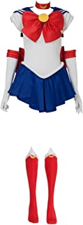 Cosfun Best Tsukino Usagi Serena Cosplay Costume mp000139  sc 1 st  Amazon.com & Amazon.com: InCogneato Sailor Moon Adult Costume Red/Blue Small ...