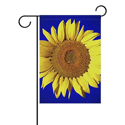 "LEISISI Sunflower Garden flag 28""X40"" Two Sided Yard Decorat"