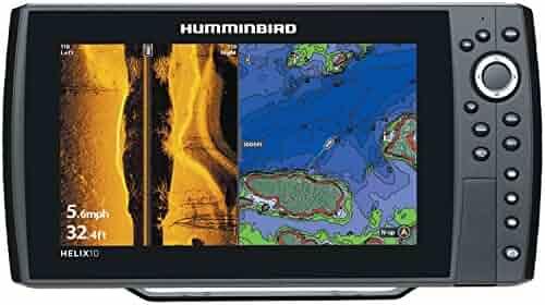 Humminbird 409990-1 Helix 10 SI 600x1024 Sonar with GPS, 10.4
