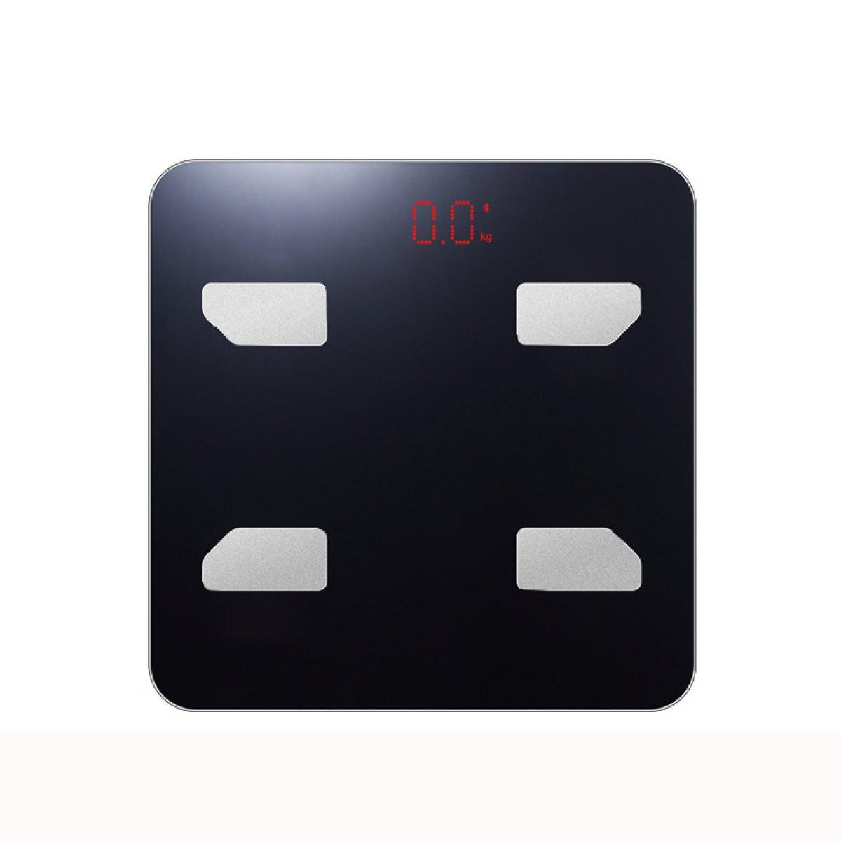 Grasas Hogar Escala De Peso Inteligente Bluetooth Básculas Inteligentes Para Adultos,Black: Amazon.es: Hogar