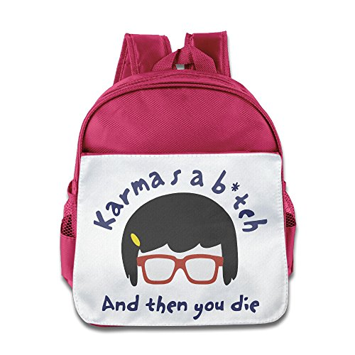 Bob Burgers Tina Belcher Rucksack Daypack Kids School Bag (Bob's Burgers Teddy Costume)