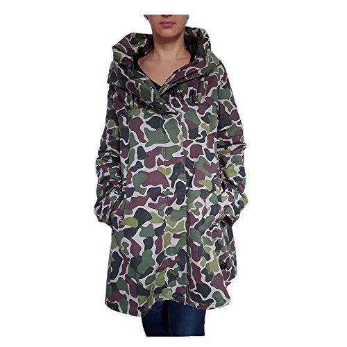 Adidas W Parka Camouflage Military Femme Kaki Veste pour homme