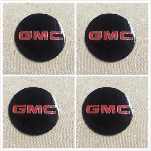 AAA+ U.S.A. OG88 4pcs GMC Truck Wheel Hub Center Cap Alloy Decal Sticker 1500 2500 3500 ()
