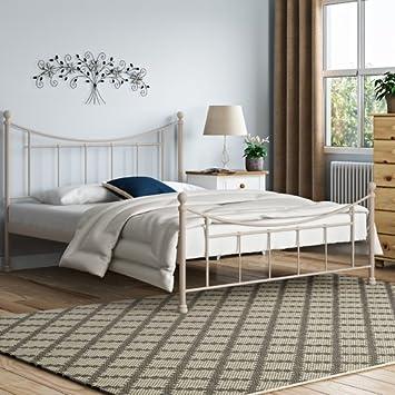 Amict Design Moderne Cadre De Lit Avec Tête De Lit Cadre Matériau - Tete de lit cadre photo